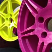 Порошковая покраска дисков фото