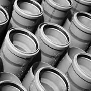Труба внутренней канализации ПВХ Ø110 длина 6000 фото