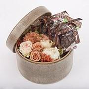 Фирменная шляпная коробка «Моя прелестница» фото