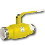 Кран шаровой LD стандартнопроходный для газа под приварку КШ.Ц.П.300/250.016.Н/П.02 фото