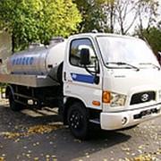 Автоцистерна пищевая Hyundai HD78 молоковоз / водовоз, 4х2 фото