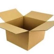 Коробки бумажные из 3-х слойного гофрокартона. фото