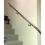 Поручень для лестницы из нержавейки Таганрог фото