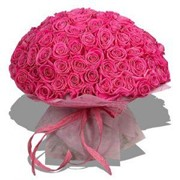 Букет 201 розовая роза фото