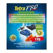Корм для аквариумных рыб всех видов, дополнительная защита Tetra TETRAPRO Vegetable 12 г фото