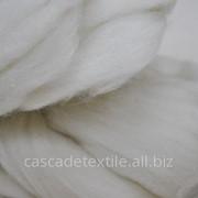 Шерсть для валяния 100 белый фото