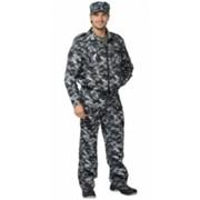 Костюм Фрегат для охранника (куртка, брюки) КМФ серый фото