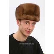 Мужские головные уборы из меха норки фото