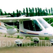 Самолет трехместный Х-34 для пассажирских и грузовых перевозок до 700 км с базированием на неподготовленных площадках , требующих короткого взлёта и посадки, пр-во Авиационная фирма Лилиенталь Lilienthal (Украина) фото