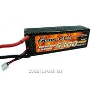 Аккумулятор Li-Po 11.1В 5300мАч 30C (3S, T-Plug) фото
