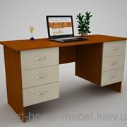 Стол офисный С-9 (1500х600х750) фото