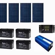 Солнечная батарея 2,4  кВт  фото