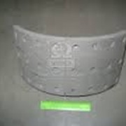 Колодка тормозная с накл. 6520 (пр-во КАМАЗ) фото