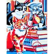 Картина Три котёнка фото