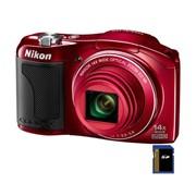 Фотокамера Nikon Coolpix L610 red (VNA222E1) фото