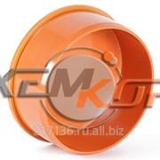 Заглушка для раструба ПВХ ручного регулирования с ревизией 110 мм фото
