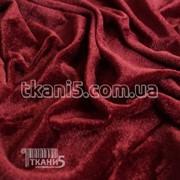 Ткань Велюр (бордовый) 4036 фото