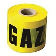 Лента предупреждения газа фото