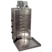 Аппарат для приготовления шаурмы с верхним электроприводом фото