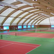 Арочный спортивный зал фото