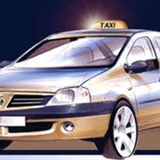 Такси по городу фото