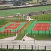 Покрытие для открытых спортивных площадок фото