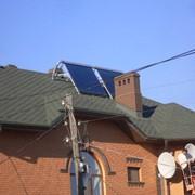 Солнечный нагреватель - сплит 200 литров фото