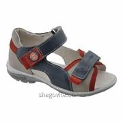 Туфли открытые для мальчика 24112 фото