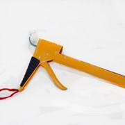 Пистолет для силикона Полукорпусной (прорезиненная рукоятка) фото