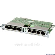 Модуль Cisco Eight port 10/100/1000 Ethernet switch int. card (EHWIC-D-8ESG=) фото