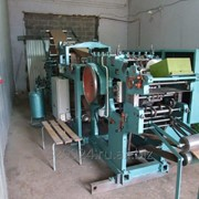 Машина для производства бумажных пакетов с блочным дном фото