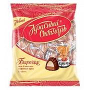 Конфеты Барокко вкус сливочно-кофейный крем, Красный Октябрь, 250 гр. фото