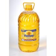Масло подсолнечное нерафинированное бутилированное фото