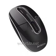 Мышь беспроводная A4Tech G7-300D-1 черная USB Holeless фото