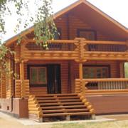 Дома деревянные, проектирование и строительство домов из дерева фото