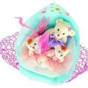 Букет из мягких игрушек Остров сокровищ 3076 фото