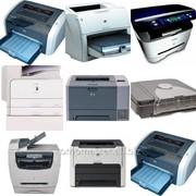 Ремонт лазерного принтера, формат A4, А3 (диагностика, устраненние неисправности, ТО) фото