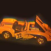 Голограмма художественная Гоночный автомобиль фото