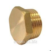 Заглушка, MM16, H-o 8-18 мм, латунь, PTK17.16 фото