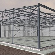 Проектирование быстровозводимых зданий. Строительство быстровозводимых зданий из металлоконструкций, с использованием термопрофилей и ЛСТК. фото