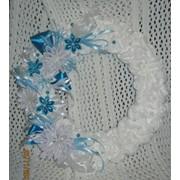 Декоративний віночок ′Морозяні візерунки′ фото