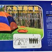 Палатка четырехместная двухтентовая фото