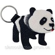 Брелок из кожи ската STKH24 Panda фото