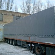 Пошив тентов на грузовые автомобили. фото