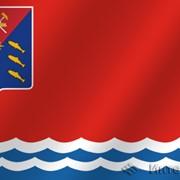Флаг Магаданская область фото