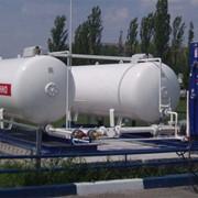 Автомобильная газозаправочная станция АГЗС фото