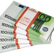 """Шуточные деньги """"100 евро"""", (Проф-Пресс) фото"""