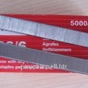 Скобы 26/6 для степлеров, упаковка 5000 шт. фото