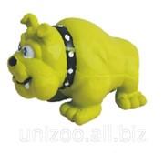 Игрушка для собаки Бульдог 12,5 см. фото