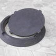Люк канализационный серии ТМ фото